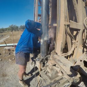 Welding Up The Casing