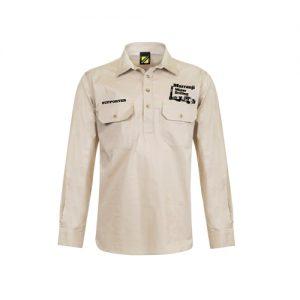Murranji Work Shirt – Cream