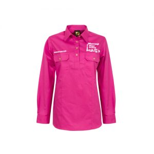 Murranji Work Shirt – Pink